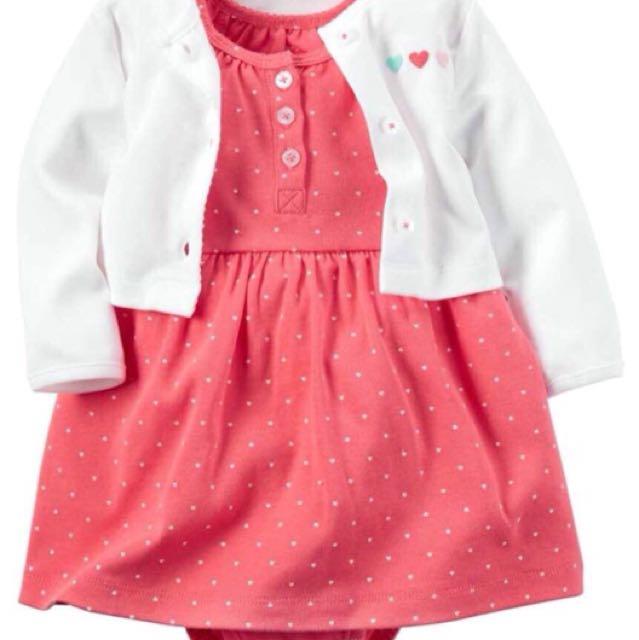 Carters dress 2in1 murah lucu branded