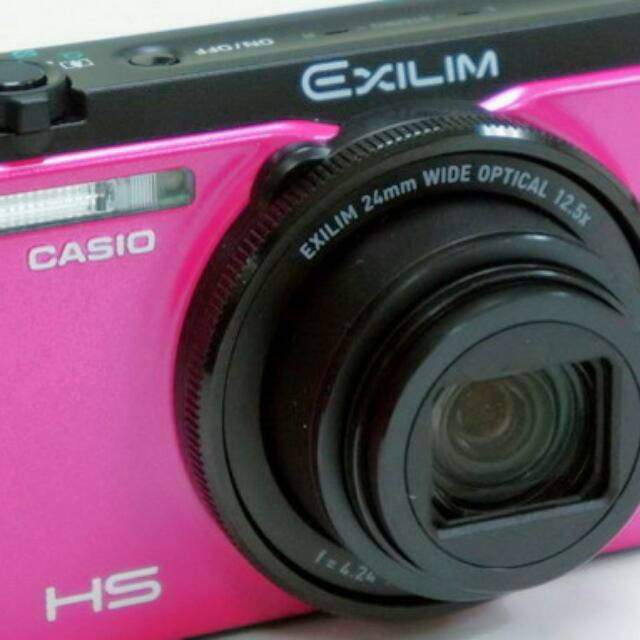 Casio ZR-1200 粉色防手震自拍機