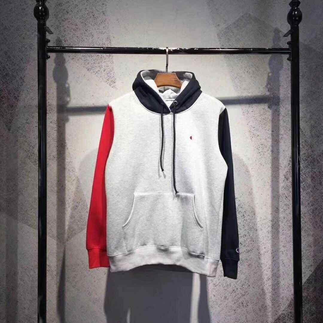 Champion colour block hoodie