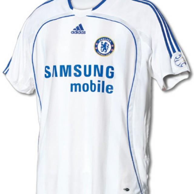 new product 7b345 cfc67 Chelsea 06/07 Away Jersey/Kit, Sports, Sports Apparel on ...
