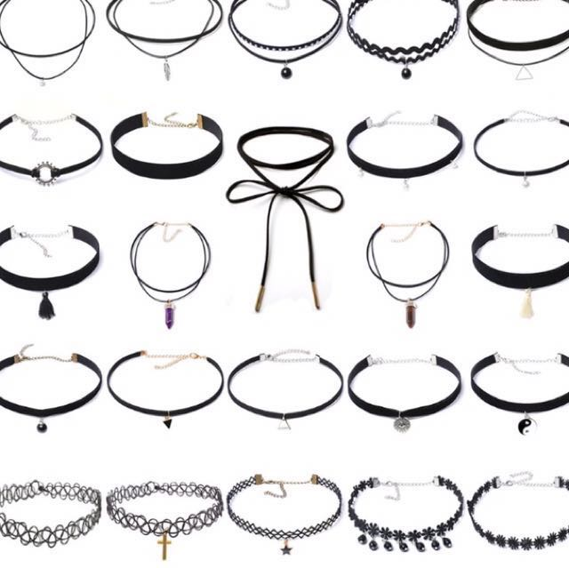 Chokers 3 FOR $10