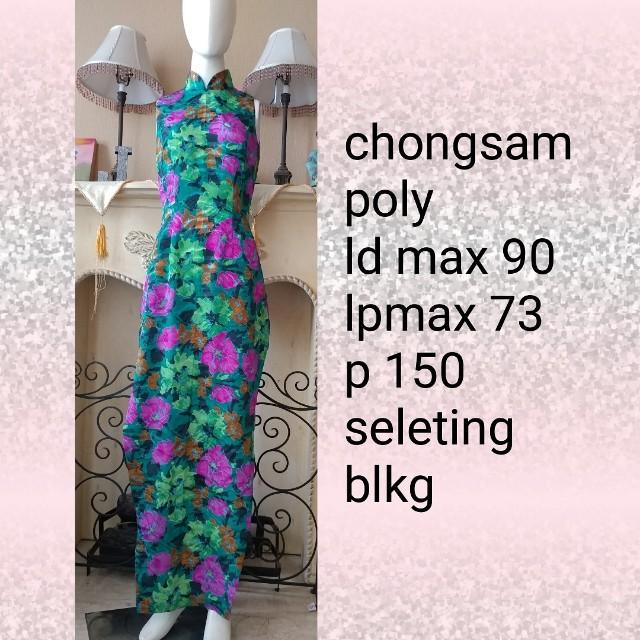 Chongsam chinese long dress
