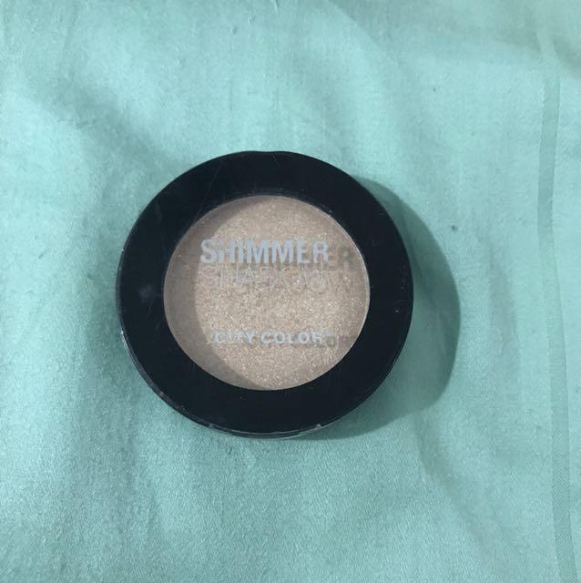 City color Shimmer shadow (eyeshadow)