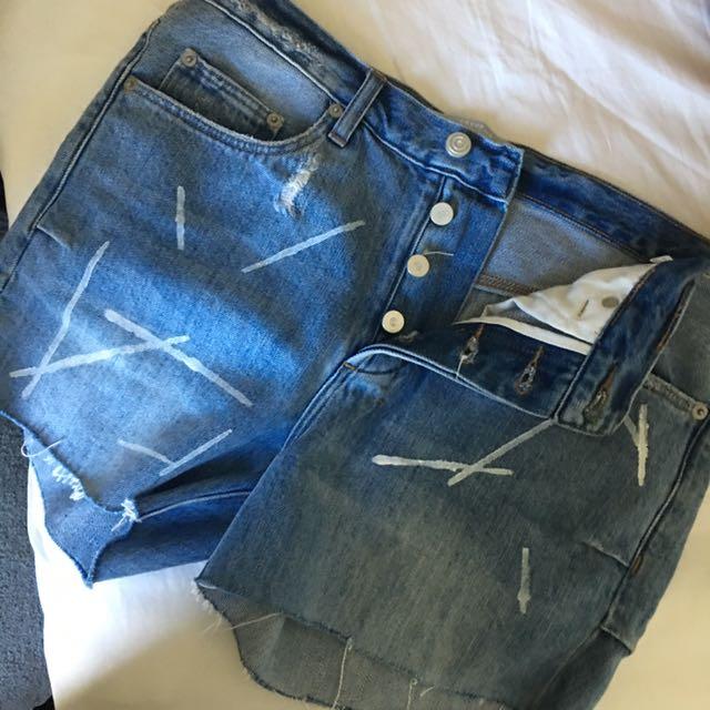 Cocurata Denim shorts