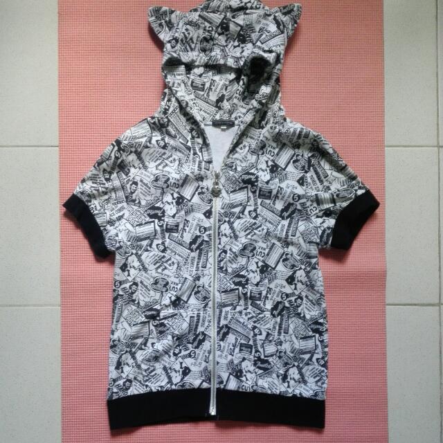 Comics Inspired Tshirt Hoodie Made In Japan