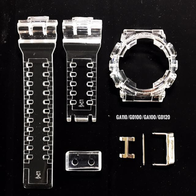 Custom Jelly Band And Bezel For Ga110 Gd100 Ga100 Gd120