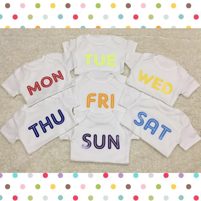 Customized Daily onesies