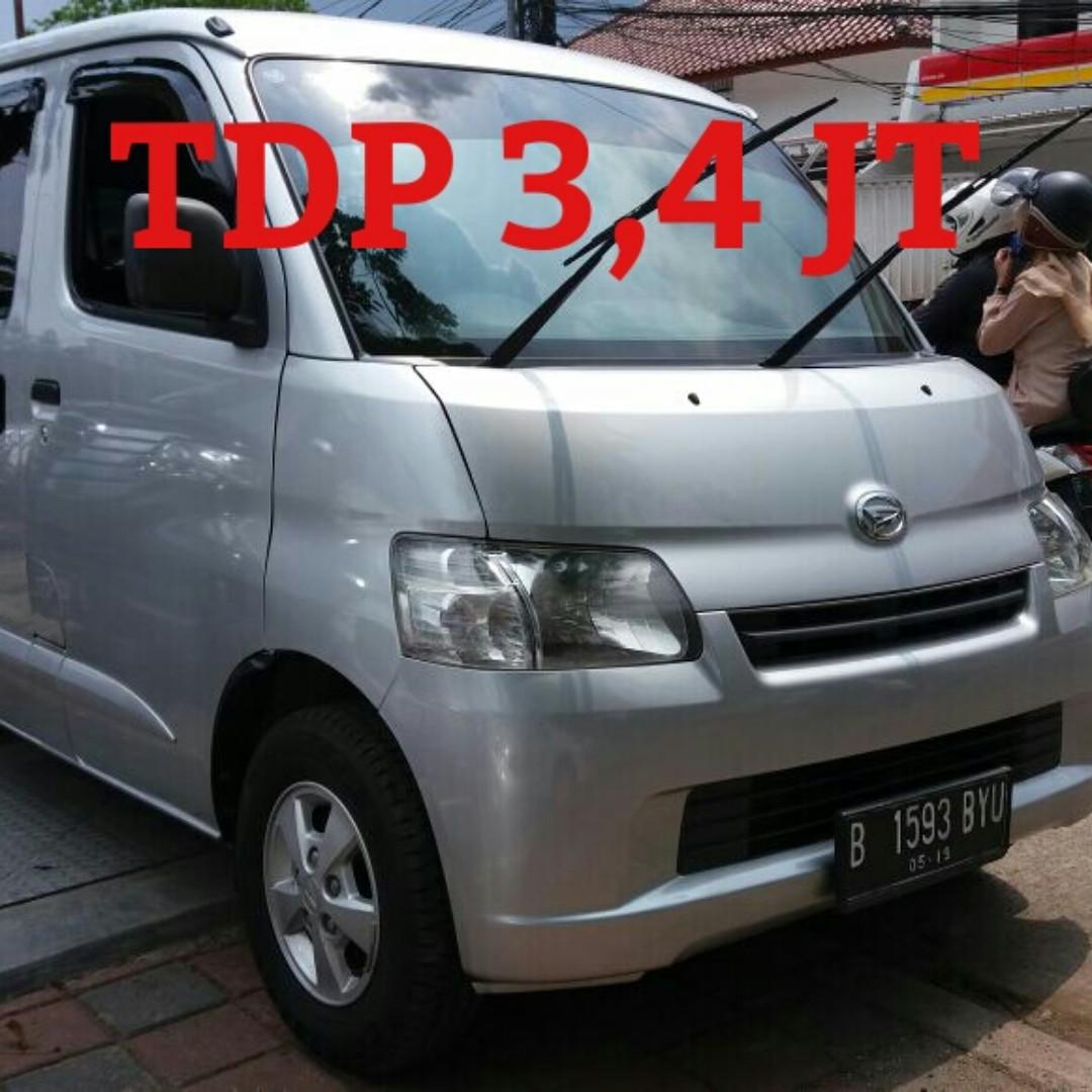 Daihatsu GranMax 1300-D 2014 Tdp 3.4 jt