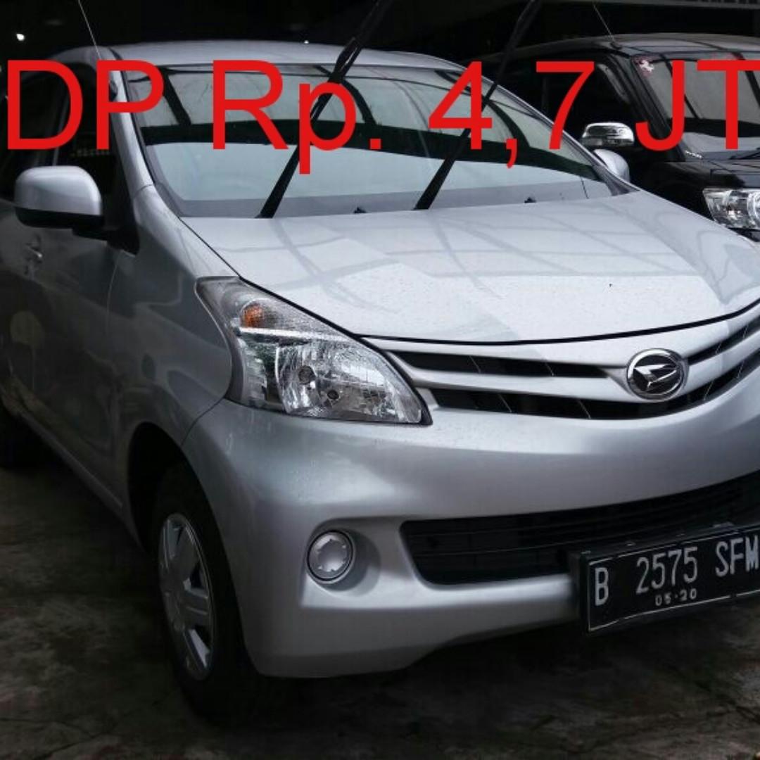 Daihatsu Xenia 10-M 2015 Tdp 4.7 jt