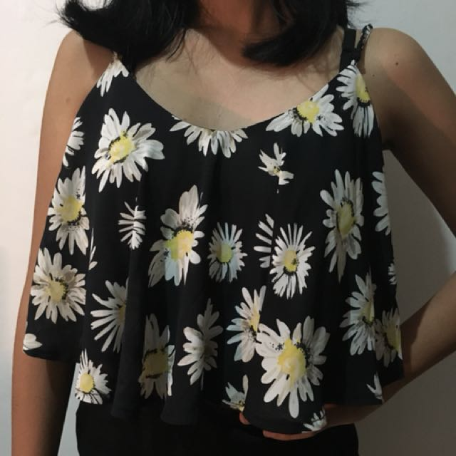 DAISY FLARE TANKTOP BY COTTON ON