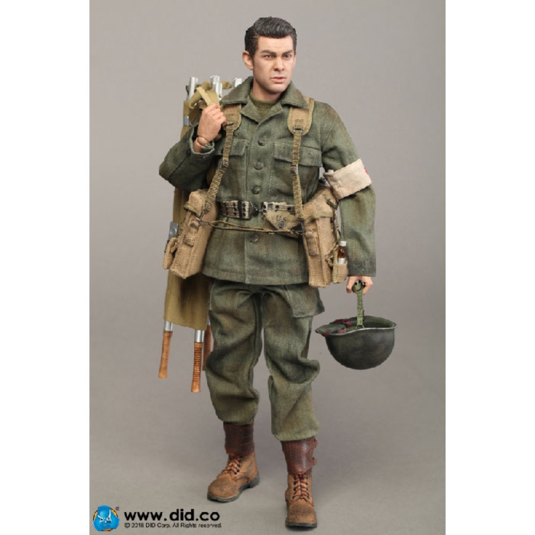 DID T-Shirt WWII 77th INFANTRY DIVISION COMBAT MEDIC DIXON 1//6 ACTION FIG TOYS
