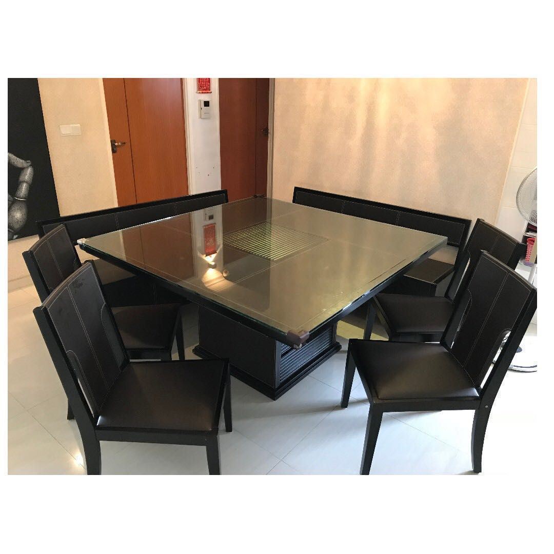 Picture of: Dining Table Set Lorenzo For 10 Seater S 388 Furniture Tables Chairs On Carousell