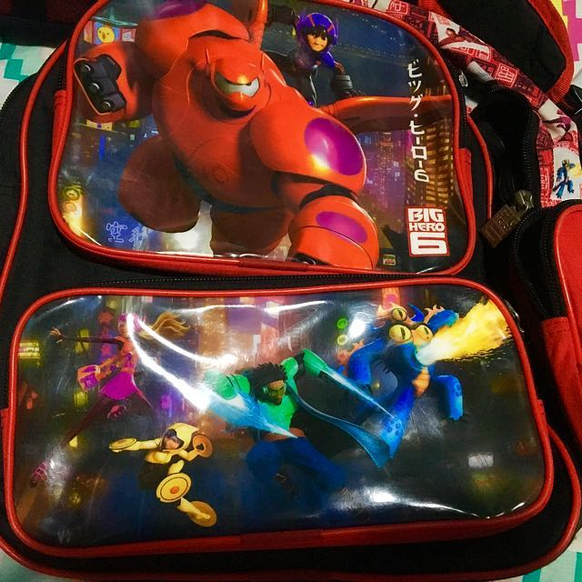 Disney Baymax School Bag