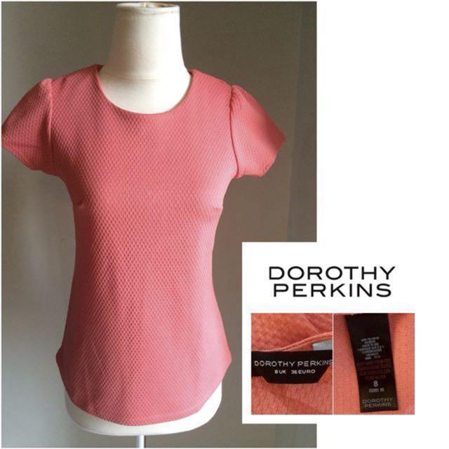 Dorothy Perkins Peach Top