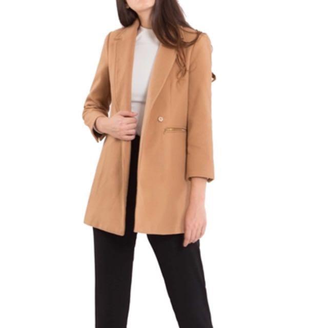Doublewoot Dofriaz Coat (Brown)(S)