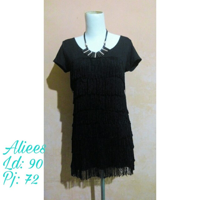 Dress hitam by Aliees