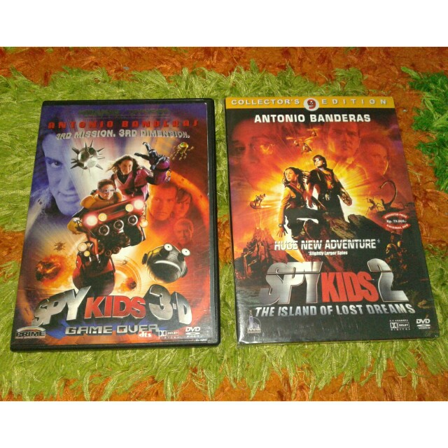 DVD original spy kids 1 & 2