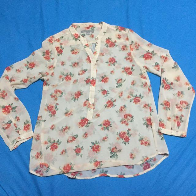 Floral shirt kemeja