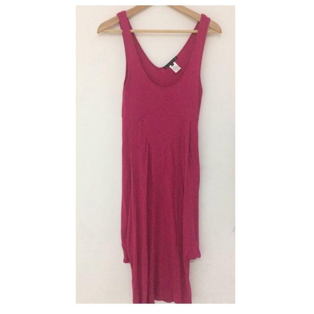 Fuschia dress