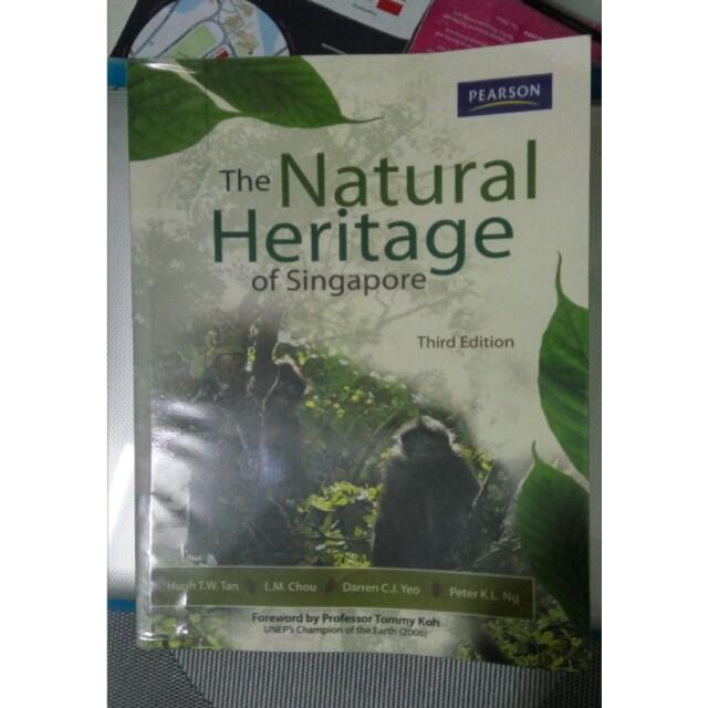 natural heritage of singapore