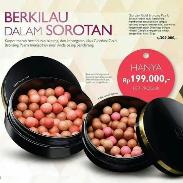 Giordani Blush On Oriflame