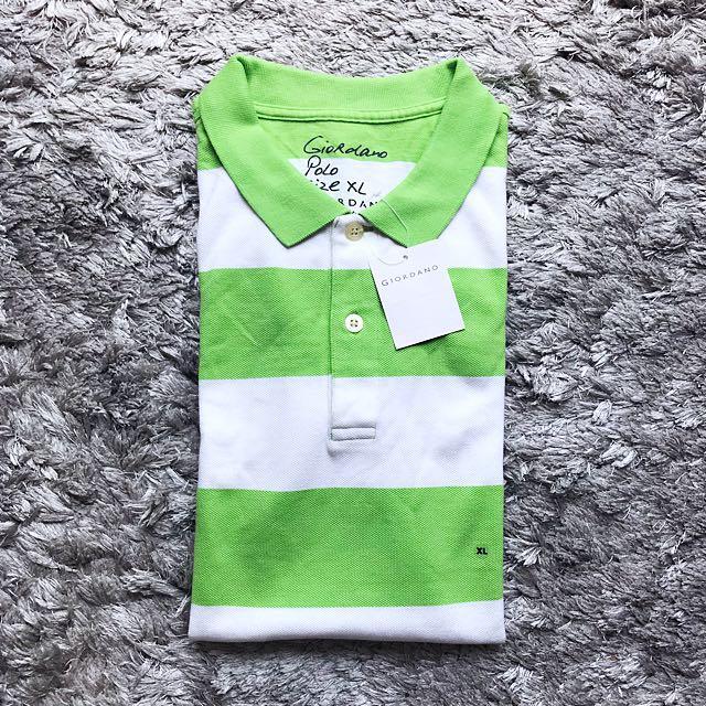 Giordano Stripes Polo Shirt