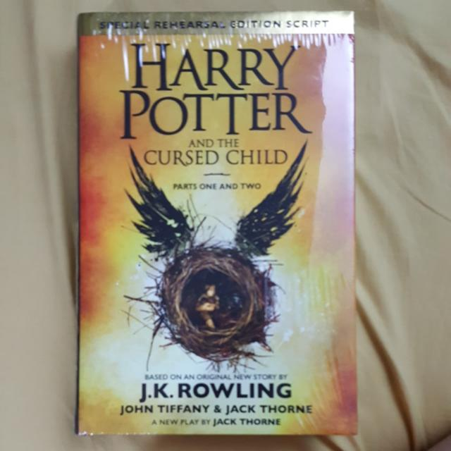 Harry Potter And The Cursed Child (English)