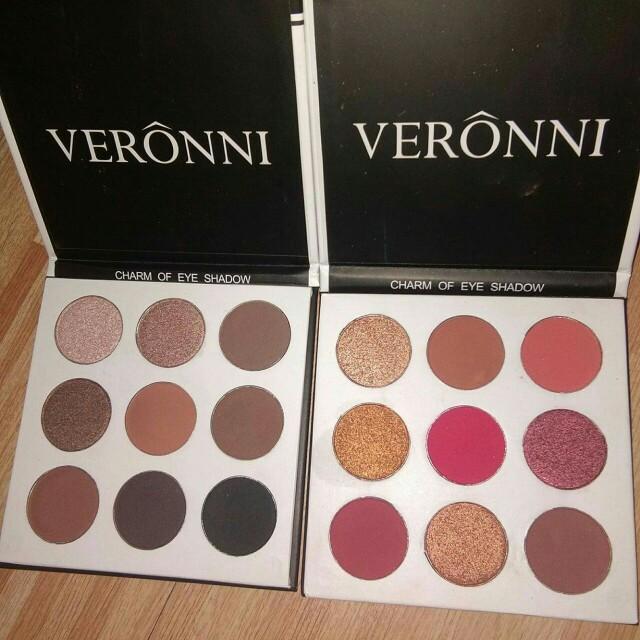 HK Brandnew Veronni BRONZE Eyeshadow Palette