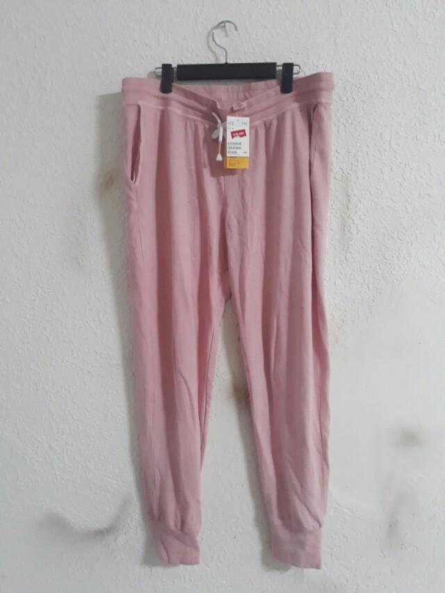 H&M 粉色休閒褲