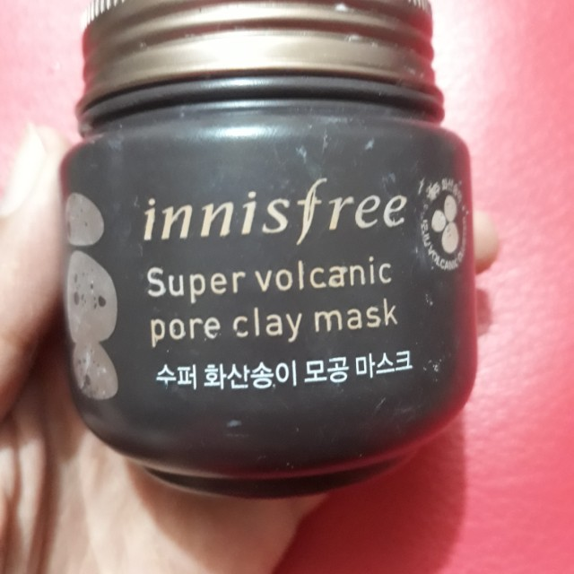 Innisfree clay mask super volcanic