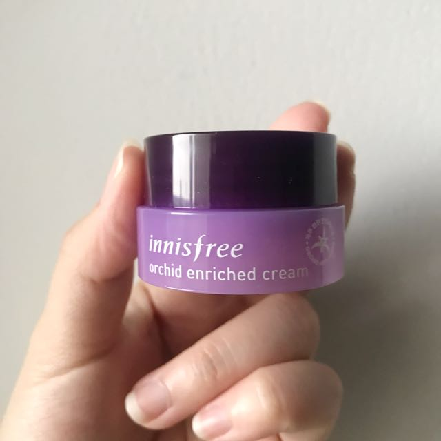 Innisfree orchid enriched cream trial size