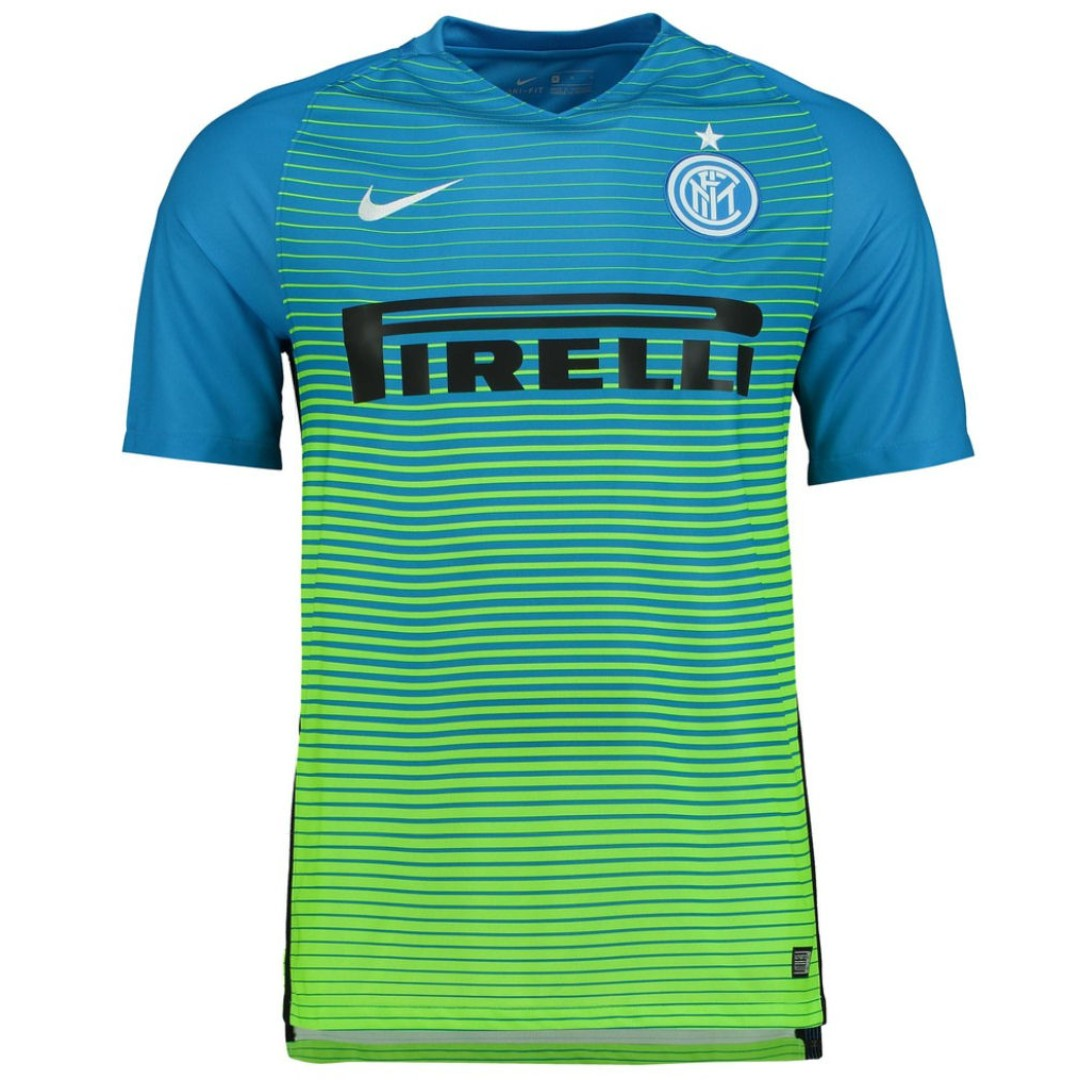 separation shoes 753bf ff616 Inter Milan Adult 2016/2017 SS Third Kit (Size M) - Brand ...