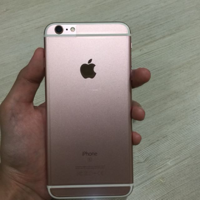 Iphone 6s+ Rose Gold