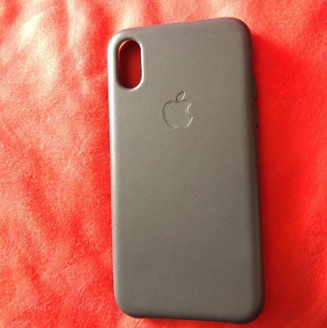 promo code 8b583 3cac2 IPhone X Apple Casing (Charcoal Grey)