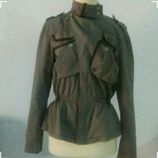Jacket Army Keren Banget All Size