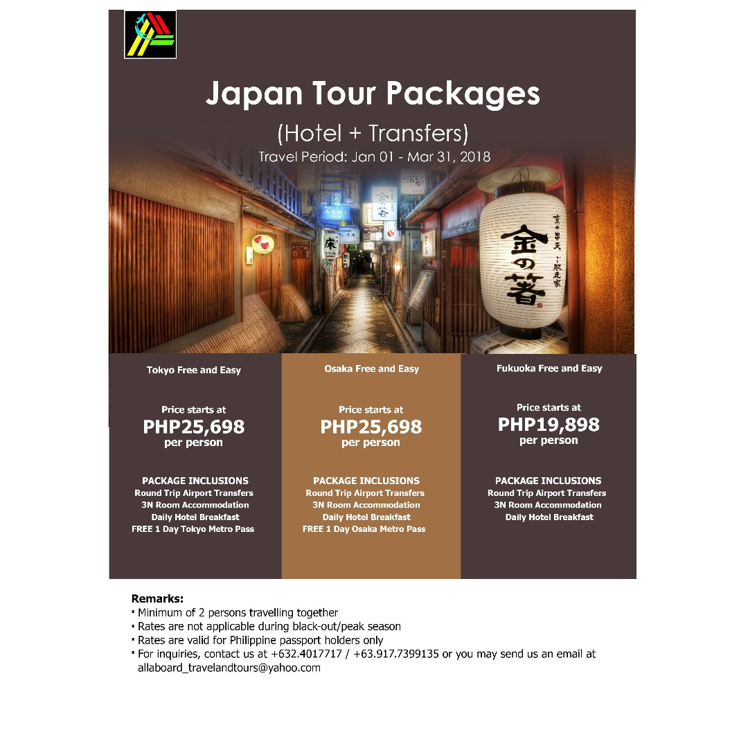 Japan Tour Packages