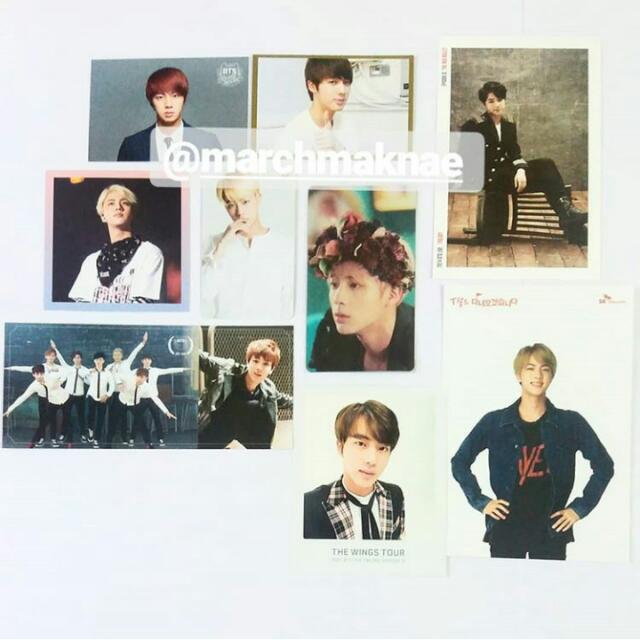 JIN (BTS) Official Collection