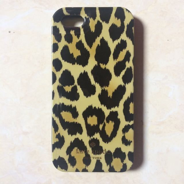 Kate Spade Leopard Case for Iphone 5/5s