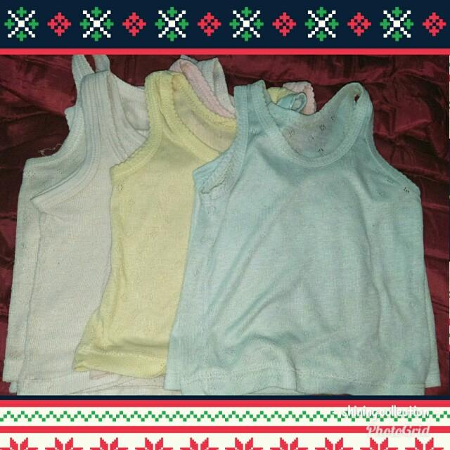 kaus kutang anak/singlet anak 10pcs (preloved)