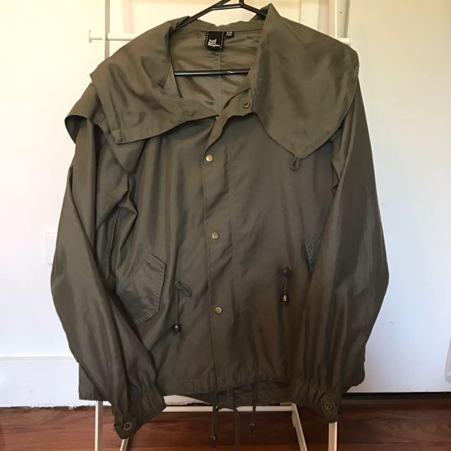 Khaki jacket - small size 10