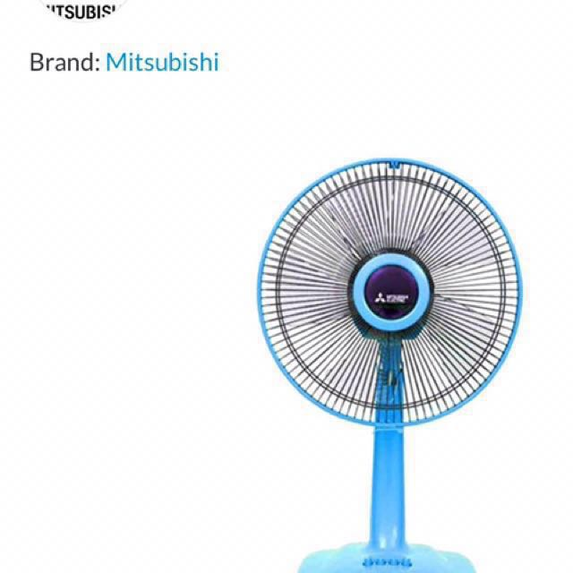 Kipas angin meja Desk Fan 12inch Mitsubishi