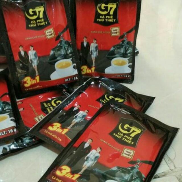 Kopi vietnam g7 3in1 instan sachet