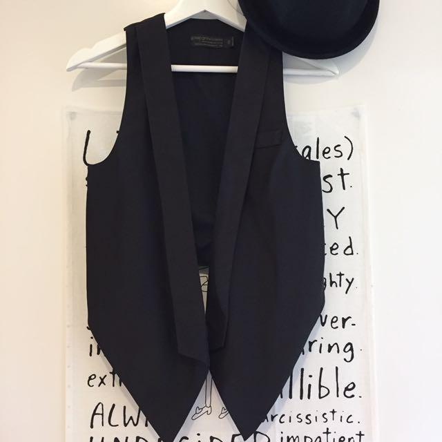 Korean black vest