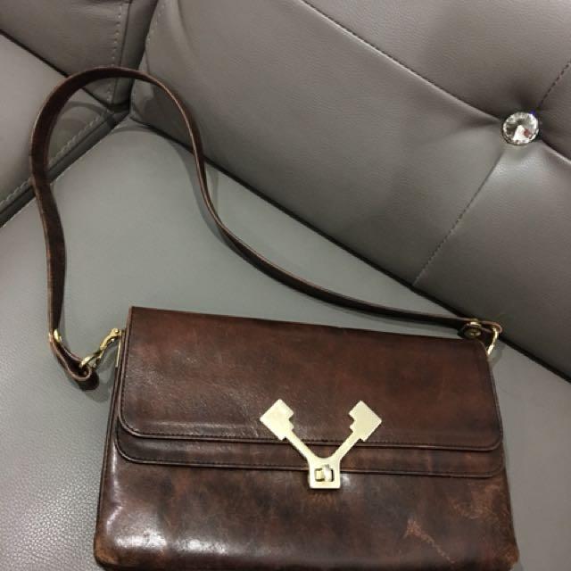 Kuipo leather vintage bag