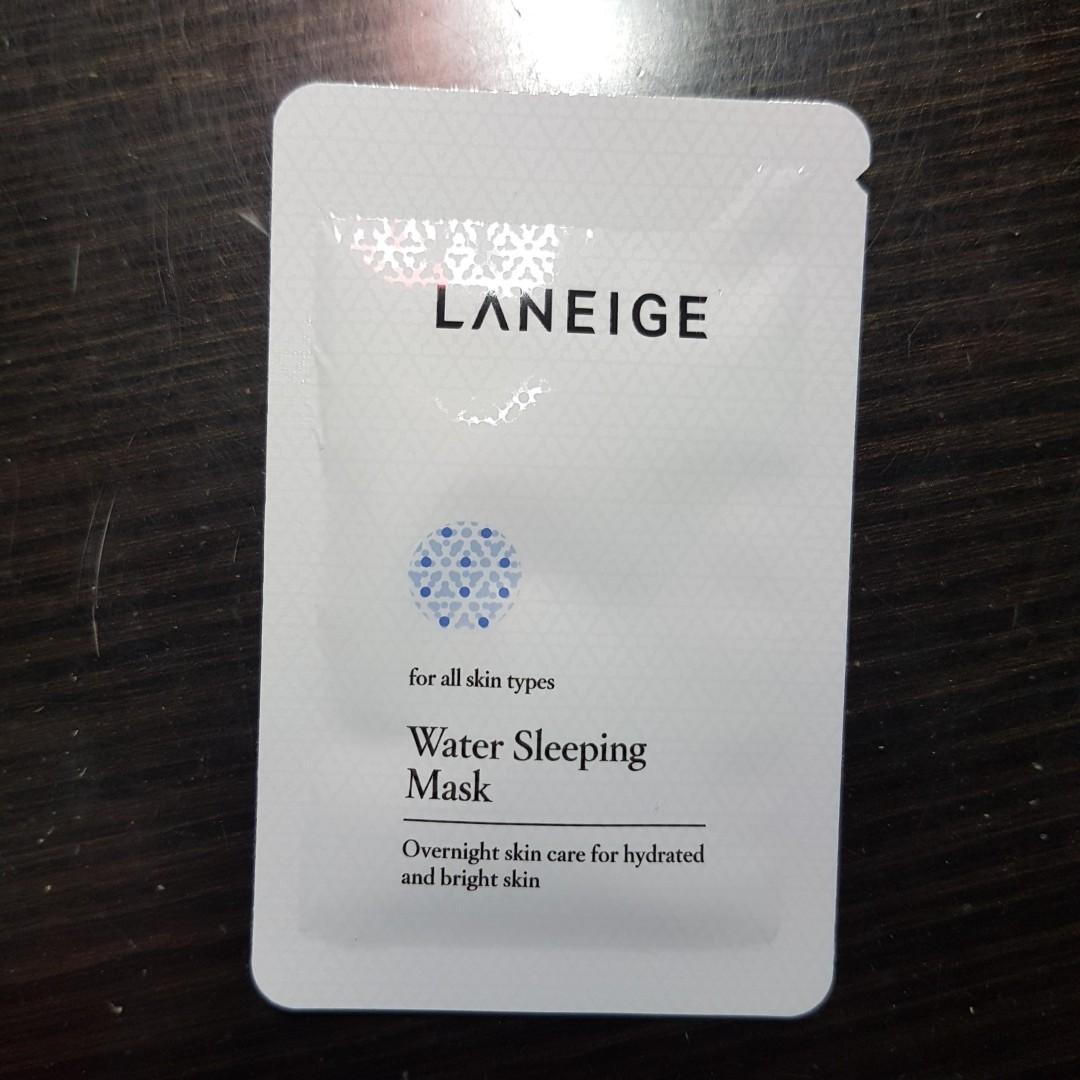 Laneige Water Sleeping Mask Sachet