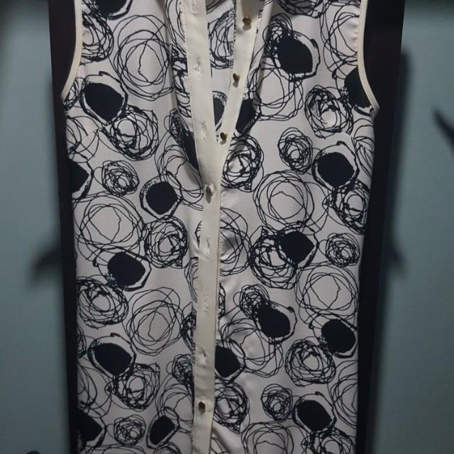 Liberte sleeveless polo dress