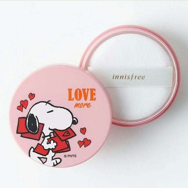 Limited!! Innisfree X Snoopy No Sebum Mineral Powder (5gr)