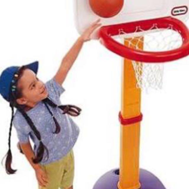 Little Tikes Toys: Adjustable Basketball Hoop