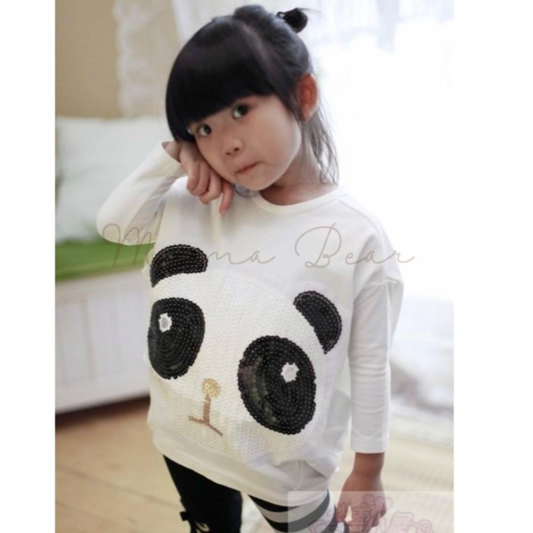 Lovable Panda Long Sleeves