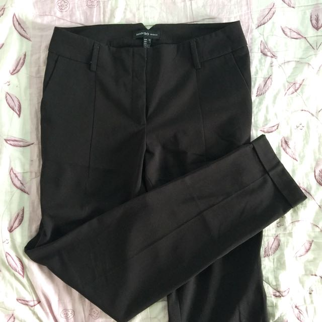 Mango basic office pants